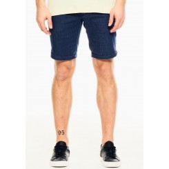 GARCIA JEANS CHINOS SHORTS INDIGO STRIBET.