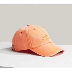 LEXINGTON YORK CAP LIGHT ORANGE.