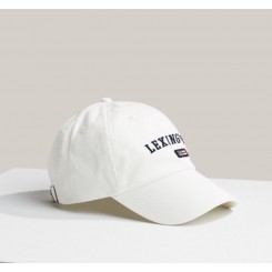 LEXINGTON HOUSTON TWILL CAP WHITE.