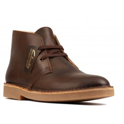 CLARKS DESERT BOOT 2 BEESWAX LEATHER.